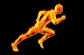 man on fire8 (running image)