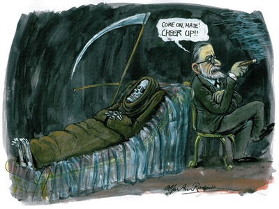 death on Freud's couch