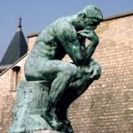 OLD ADAGE--The Thinker