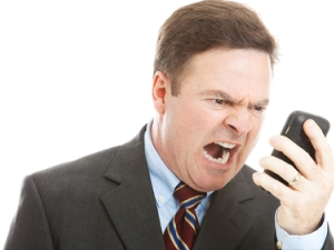 AUTOCORRECT--yelling at cellphone