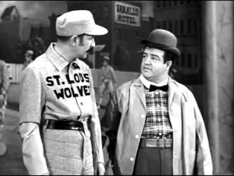 THE FRIENDLY COCKROACH--Abbot and Costello