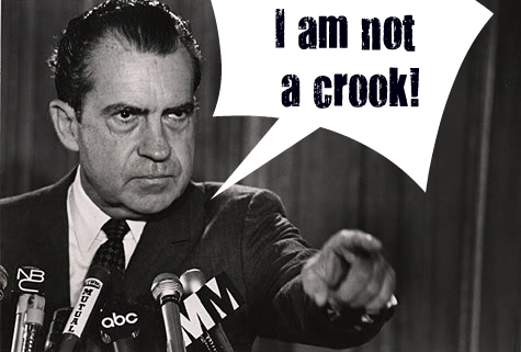 THE FRIENDLY COCKROACH--Nixon-not-a-crook