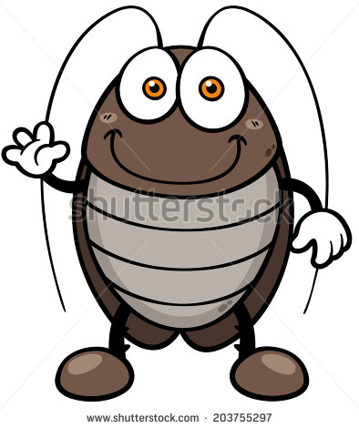 THE LITTLE COCKROACH--cartoon cockroach3