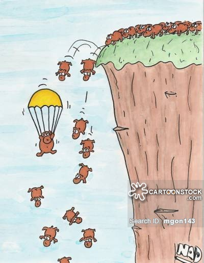 Parachuting Lemming.